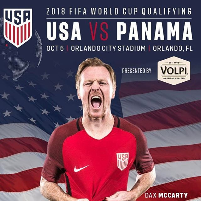 USMNT has a critical World Cup qualifying match against Panama today at 5:35MT on ESPN2! #usmnt #ussoccer