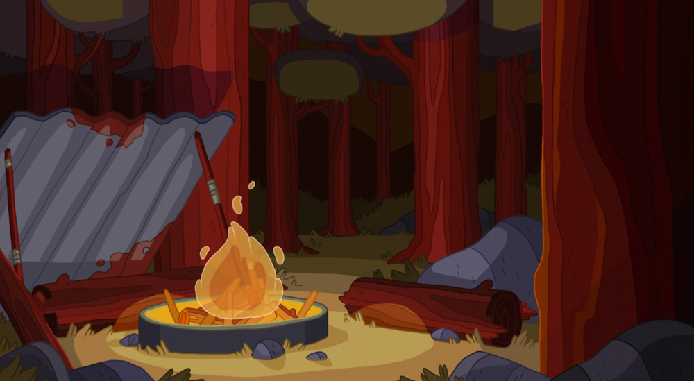 """"""" Forest Fire """" by  Jake Morrison Art"""