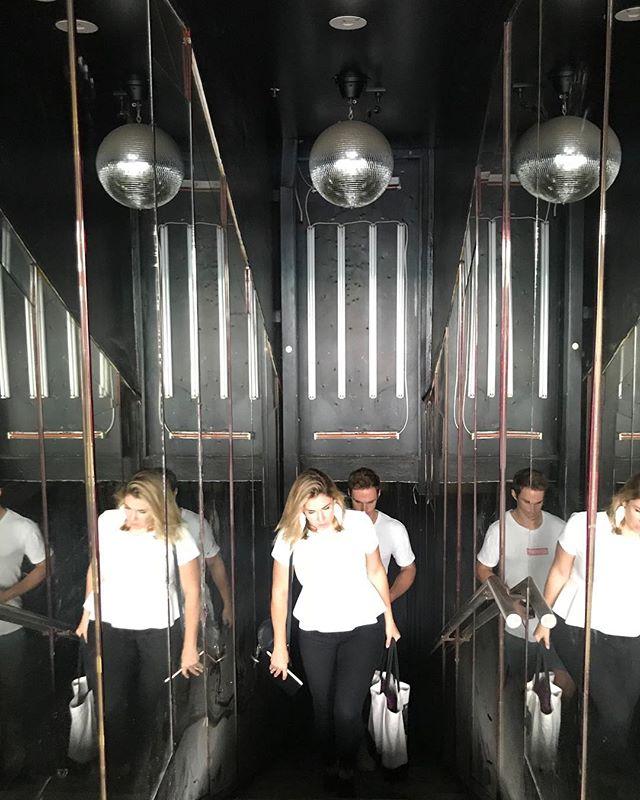 Our new basement bar project... watch this space! . #sydneyinteriordesign #underconstruction #sydneybar #smallbar #bardesign #basementbar #kajainspired #kajaonsite #mirrorball #keepsydneyopen