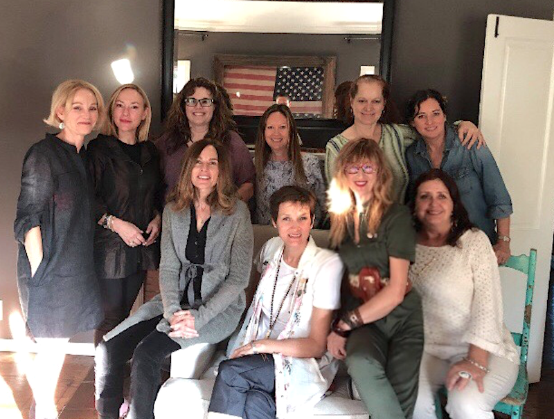 Happy Women Dinners. This was a brunch with writing coach Karen Gutman,  Spirit of Story
