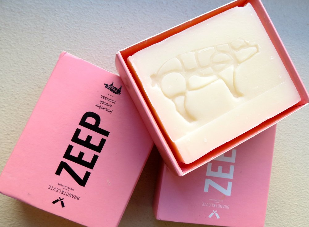 Zeep soap from Amsterdam's Brandt & Levie.