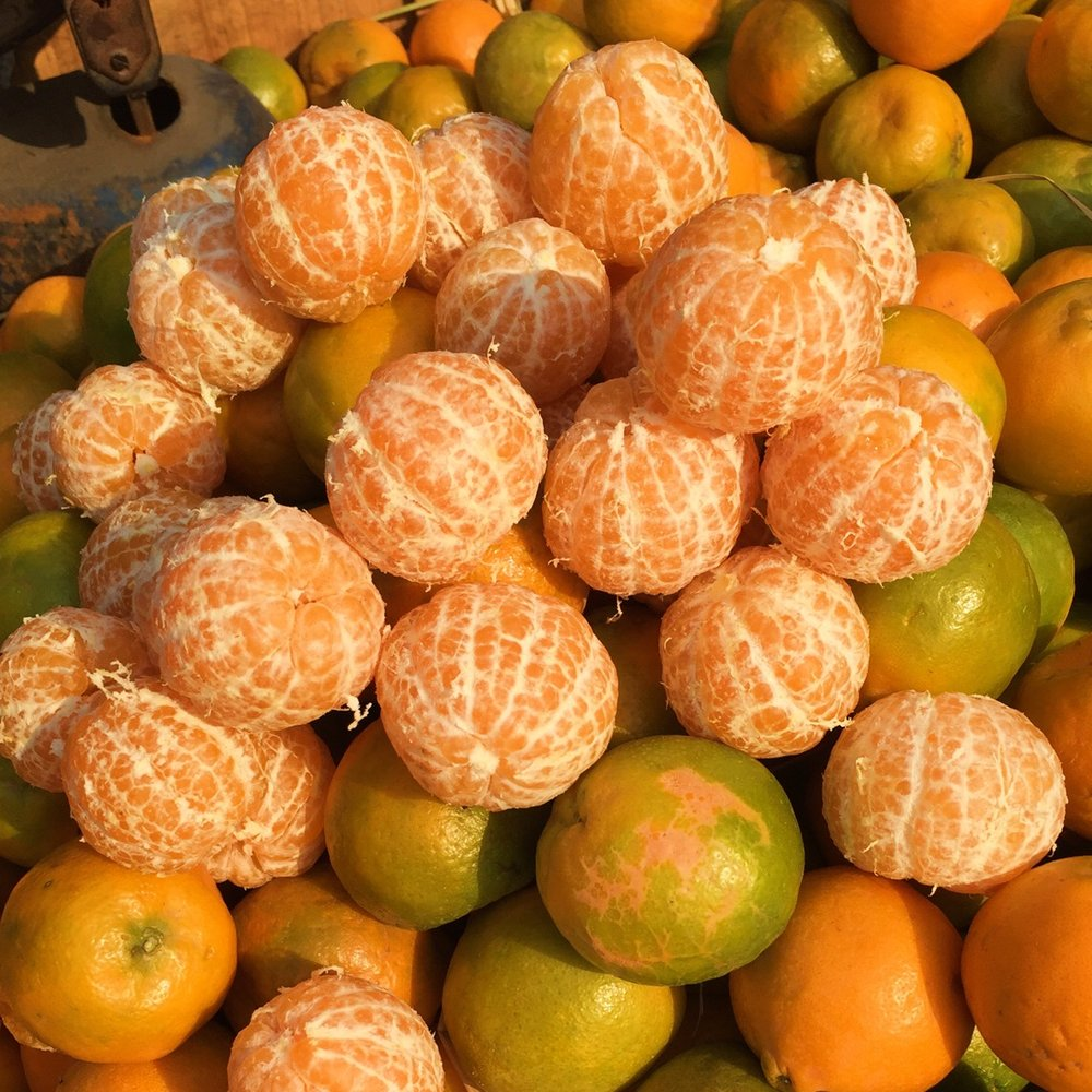 Oranges for sale in Oranges for sale in Old Delhi's Chandni Chowk market