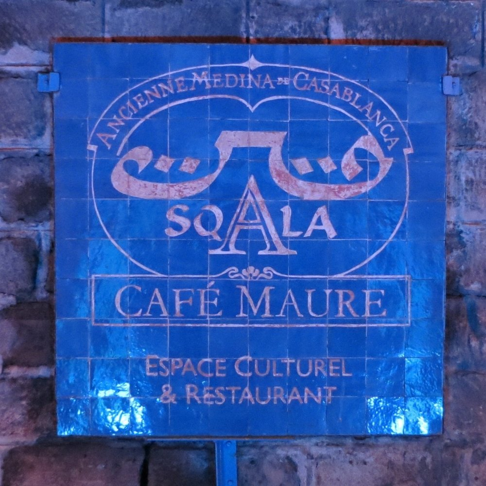 Sqala aka Cafe Maure in the Old Medina