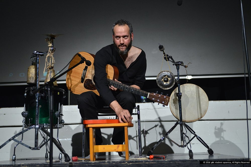 Live at RingRing Festival, Belgrade Photo by Vladimir Opsencia
