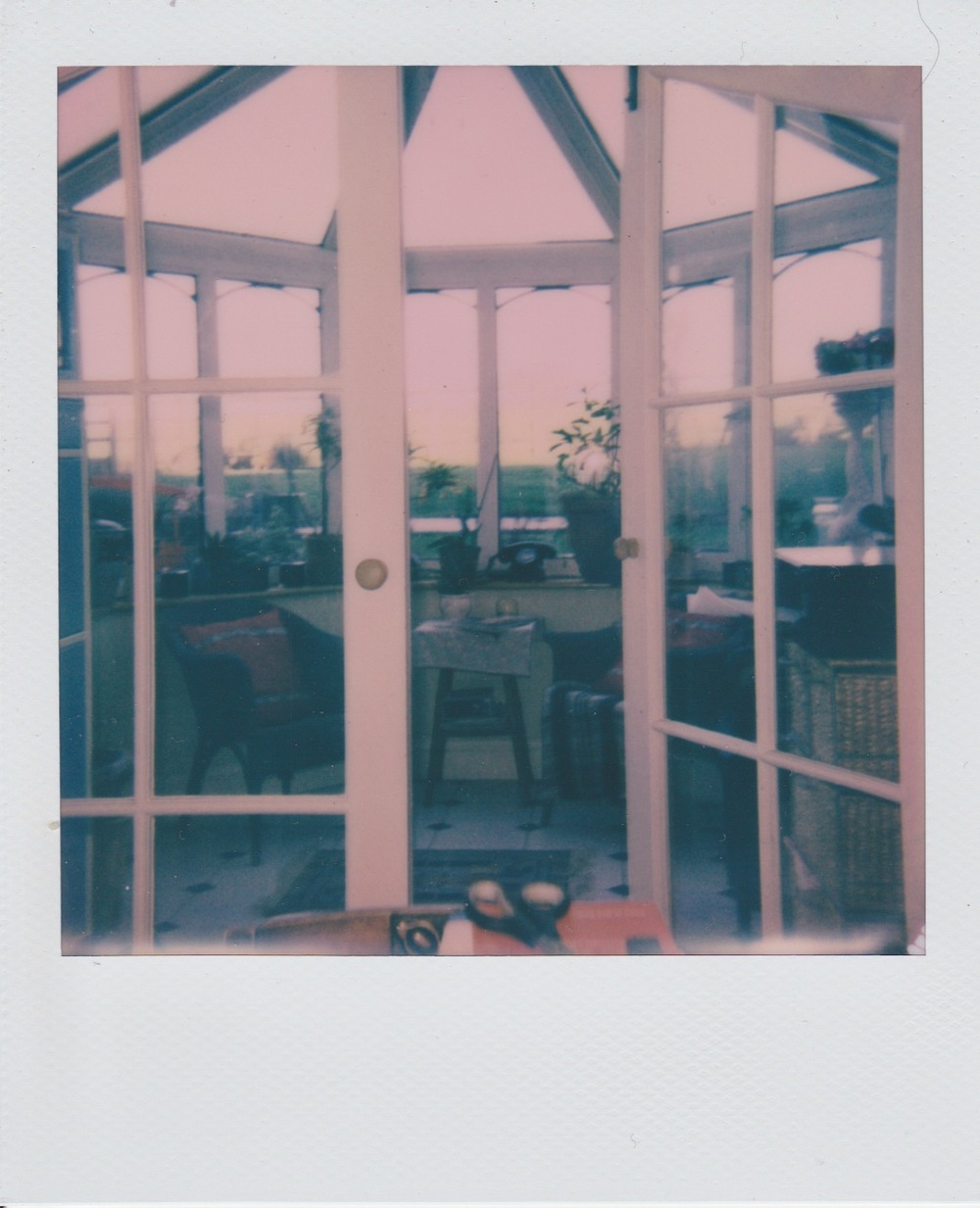 Images  from the series  Polaroids