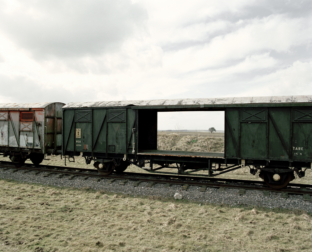 Train Carriages, 2006, from the series 'The Abyss Gazes Into You' © Spencer Murphy
