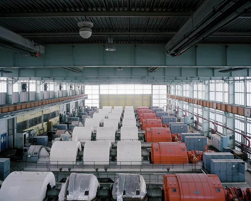 National Gas Turbine Establishment (Pyestock) which closed in 2000, by Rebecca Vassie