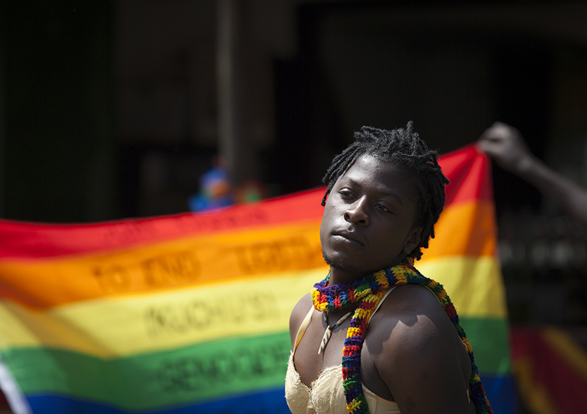 LGBT Pride 2014 Entebbe, UGANDA, by Rebecca Vassie