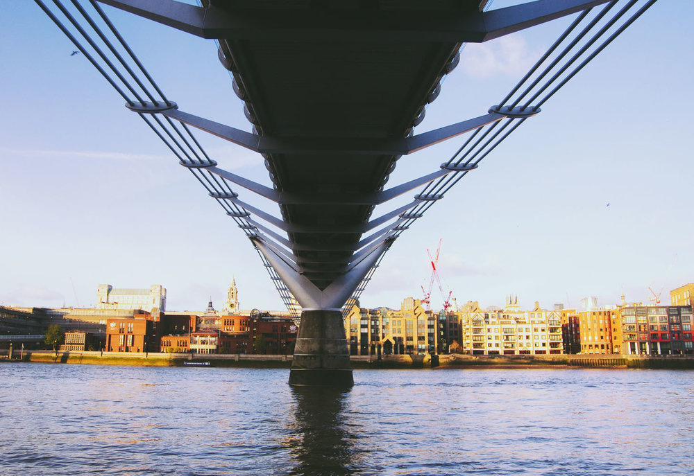 Millennium Bridge - Bridging Contrasts