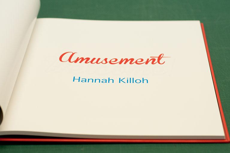 Amusement photobook