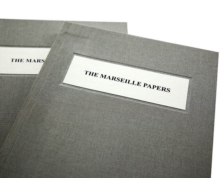 The Marseille Papers  photobook