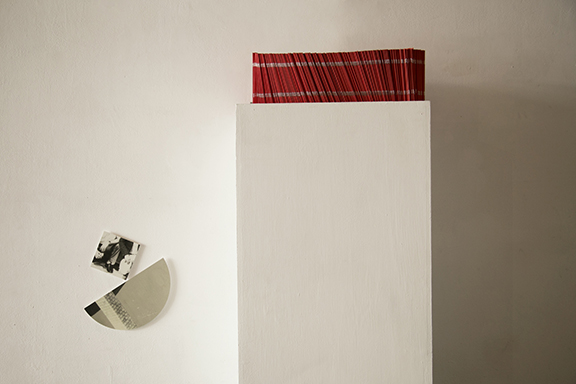 Slices of Red installation