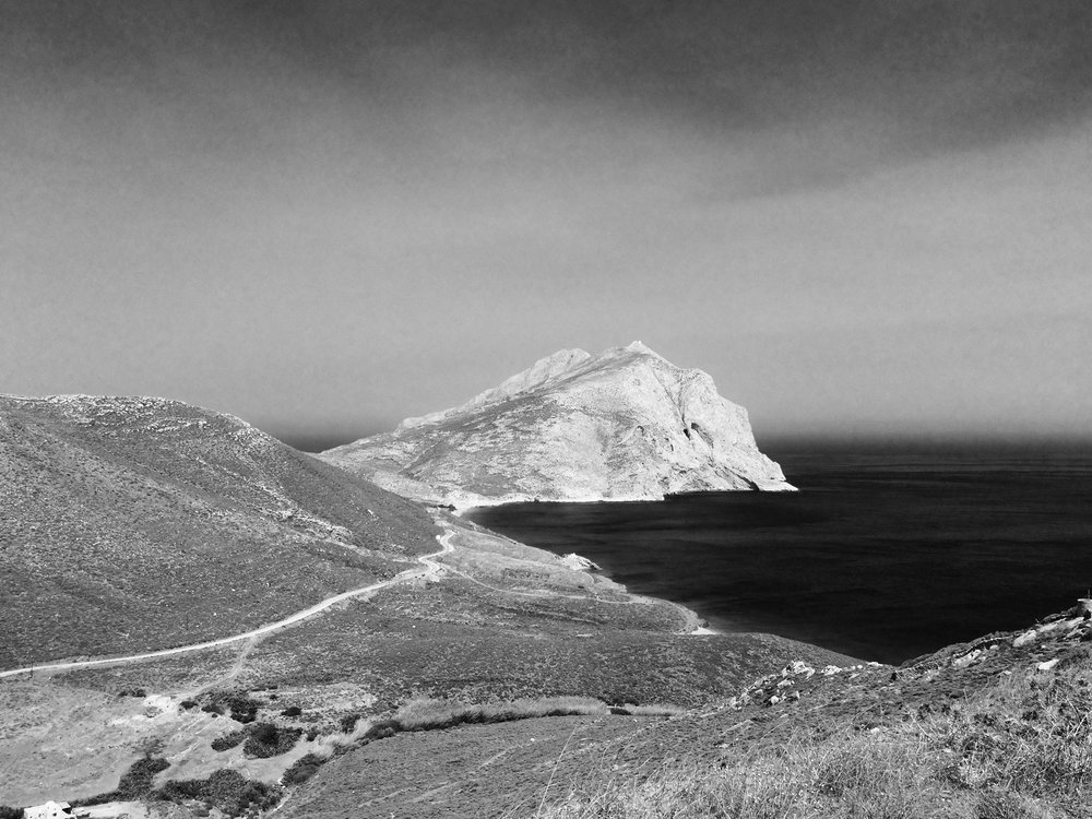 Kalamos Rock , Anafi, the Cyclades, 2016