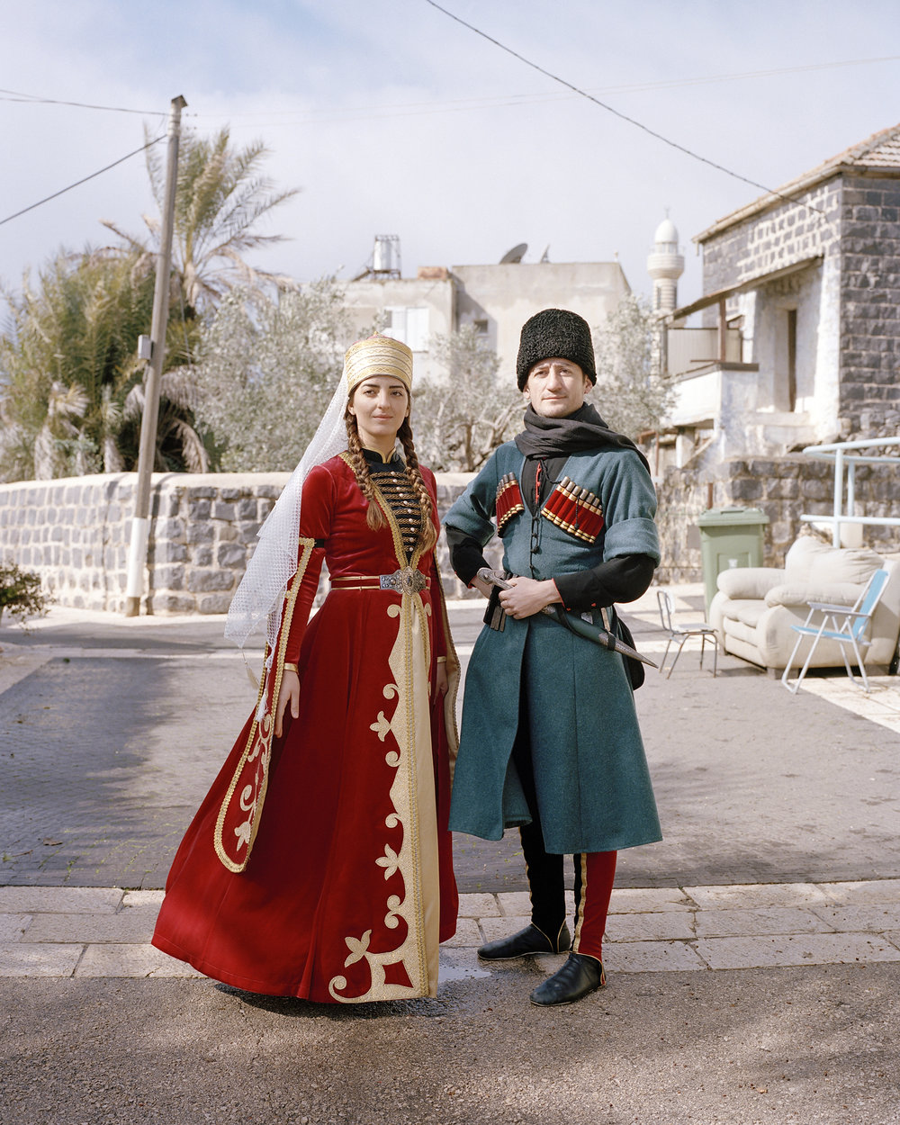 From the series  Adiga: Circassians in Israel