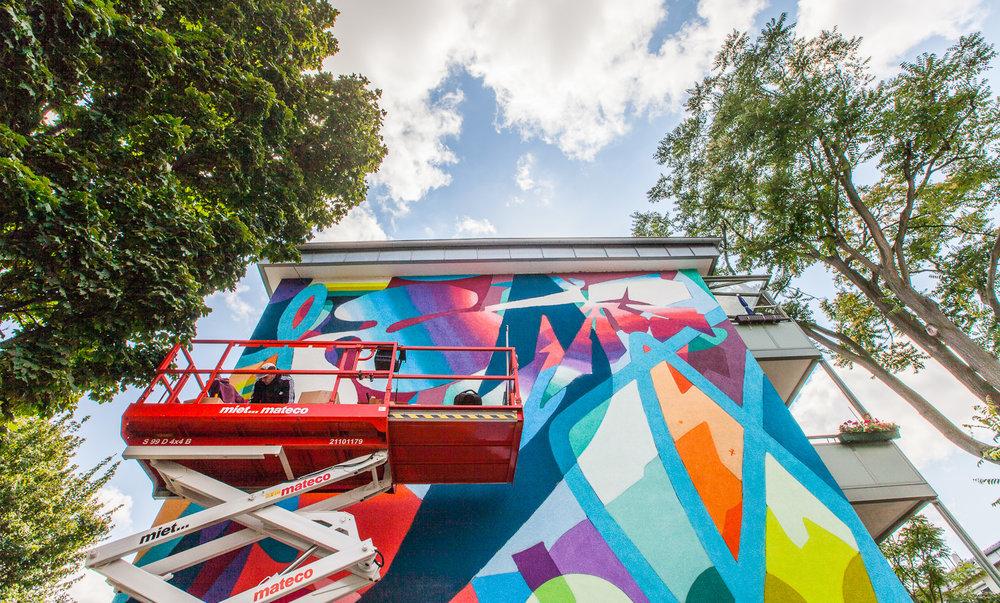 Street art-udsmykning