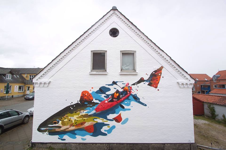 Copy of Street art-udsmykning