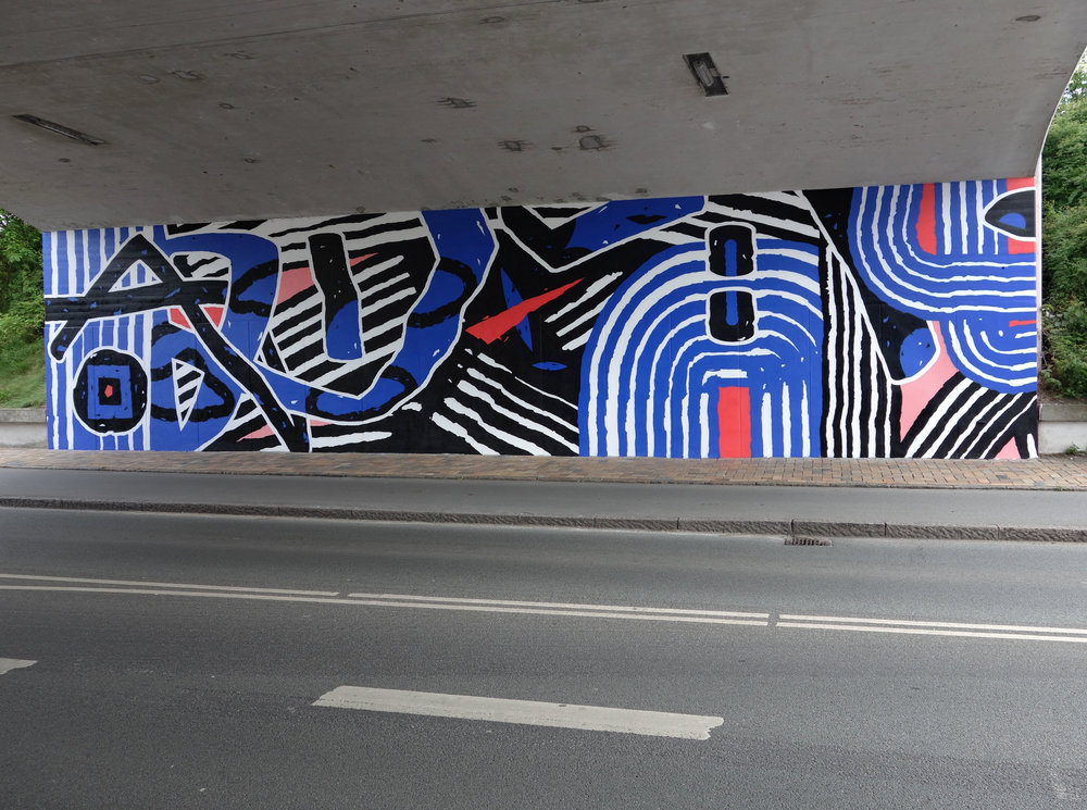 Copy of Copy of Street art-udsmykning