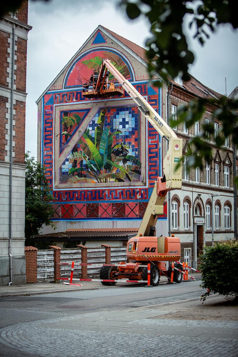 Street art udsmykning