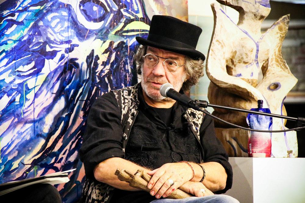 Hans Krull til artist talk