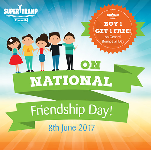 National Friendship Day June 8th Super Tramp Plymouth