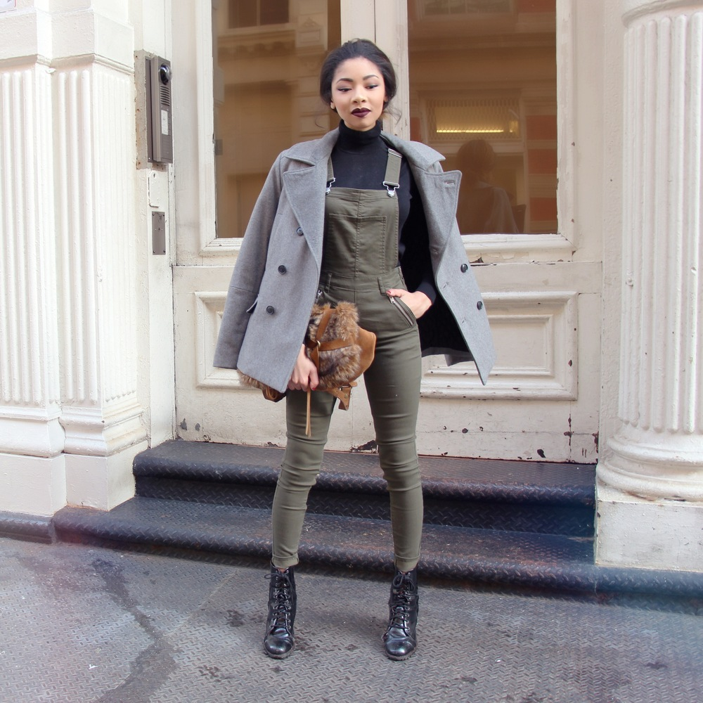Military Overalls Olivia Palermo Inspired 2016