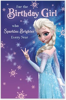 UK Greetings - Disney, Frozen
