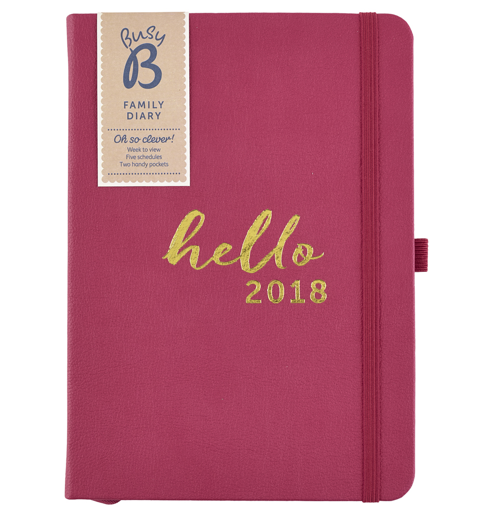 Busy B Family Diary 2018