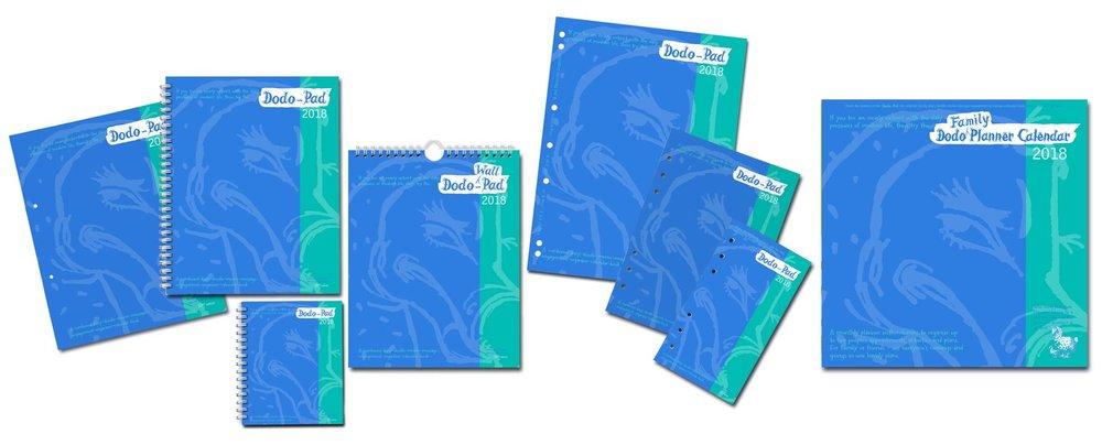 Dodo Pad Diary and Calendar range