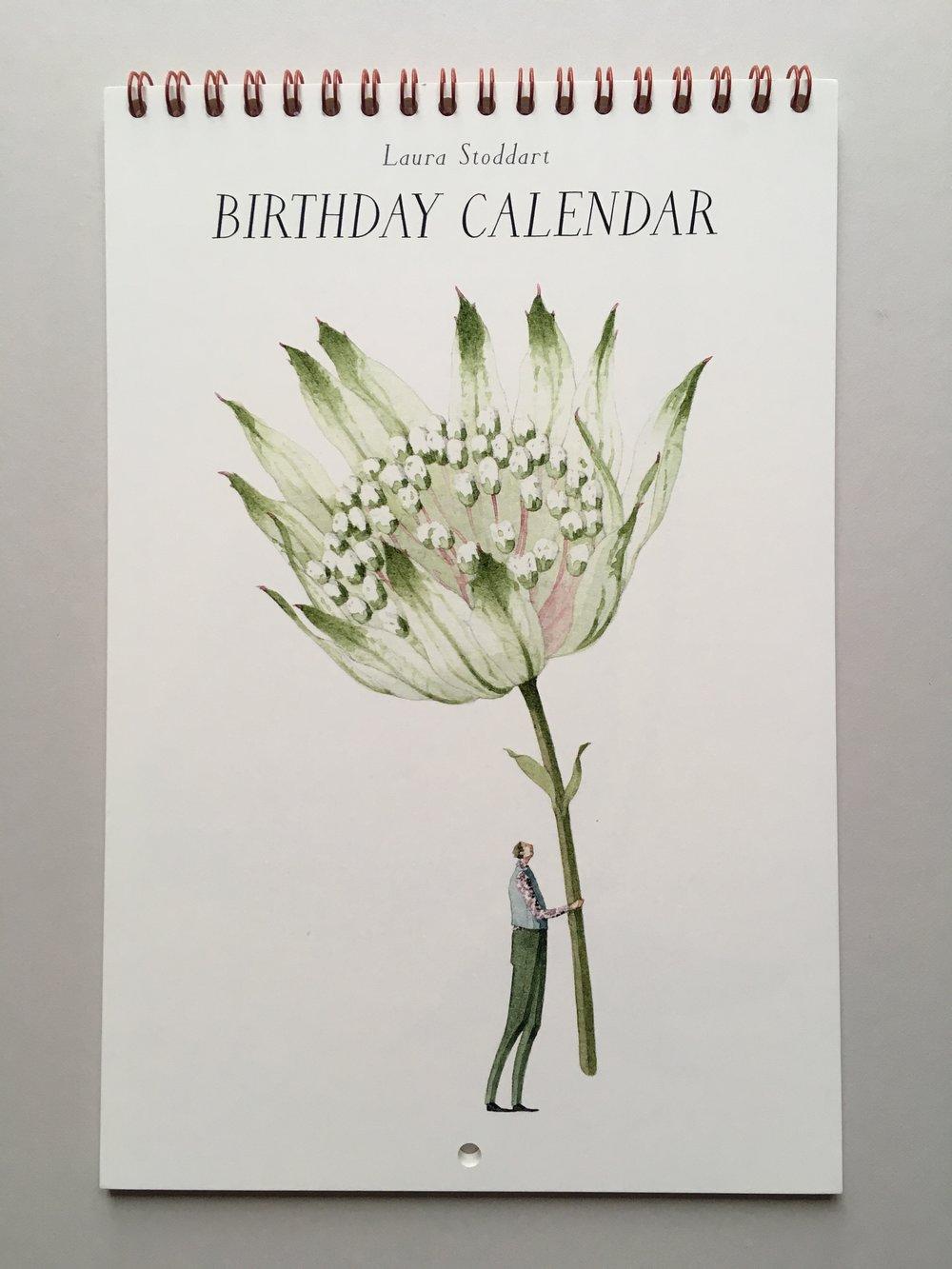 New Calendar in Laura Stoddart's Blooms Range