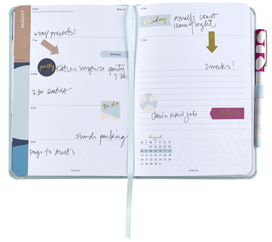 BUSY B - Perfect Planner Diary
