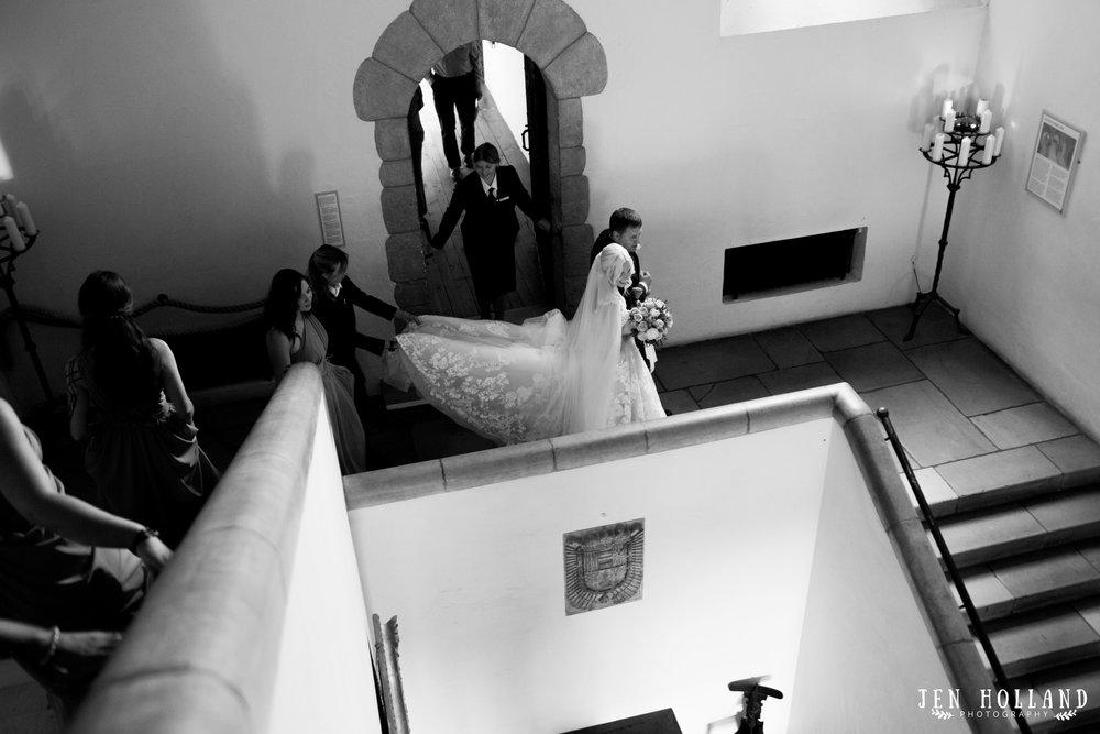 Leeds castle documentary wedding photography