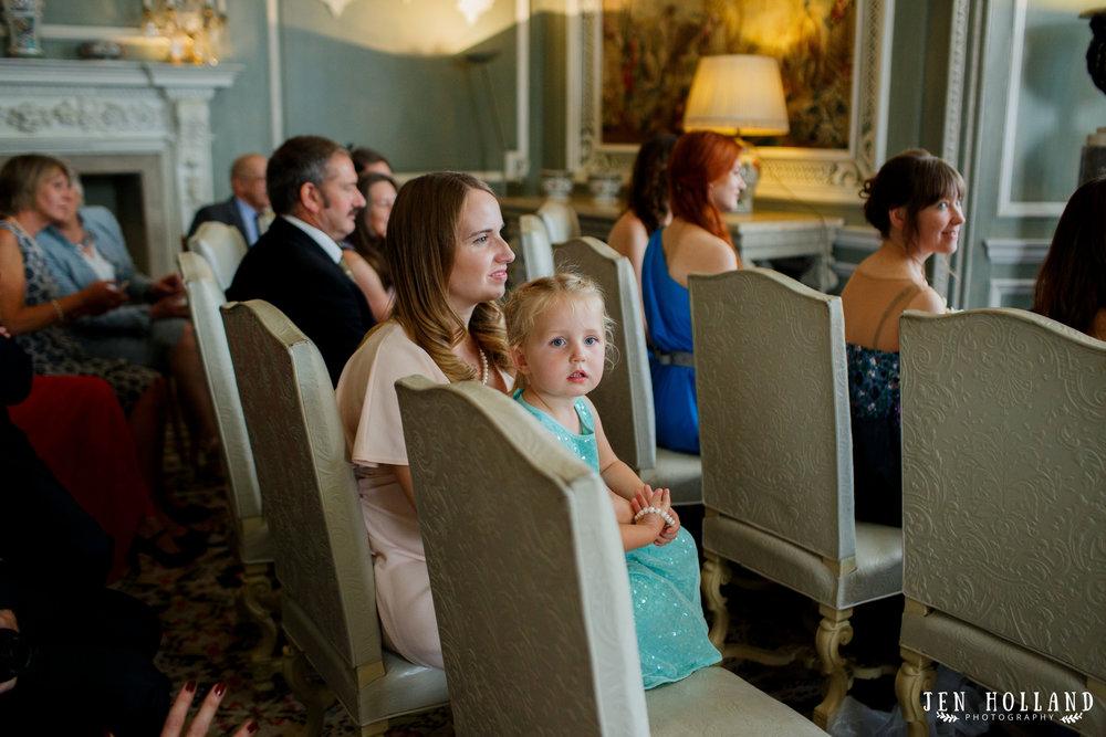 Documentary wedding photography leeds castle ceremony