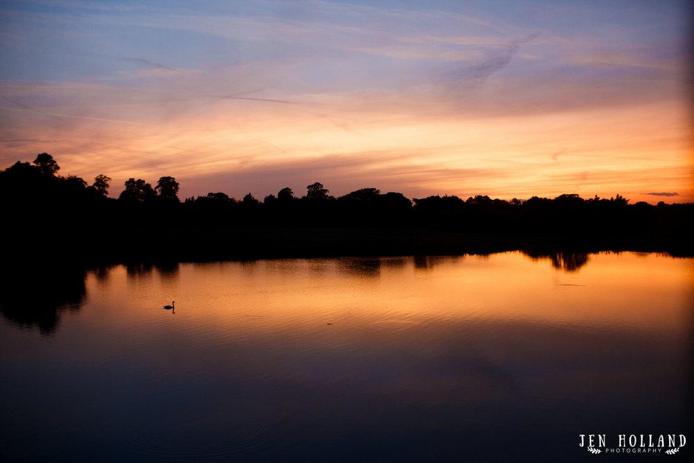 Leeds Castle sunset