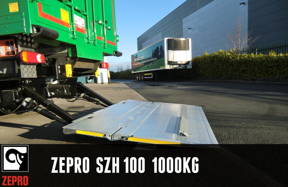 Our medium duty slider lift, with single folding platform, specifically conceived for installation under a truck. Lifting capacity of 1000 kg.