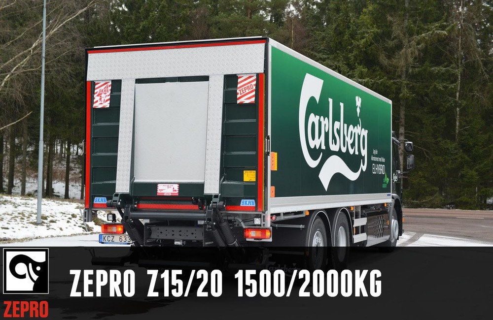 Our standard medium to heavy duty cantilever lift, with a lifting capacity of 1500/2000 kg. Designed for vehicles with GVW over 12 tons.