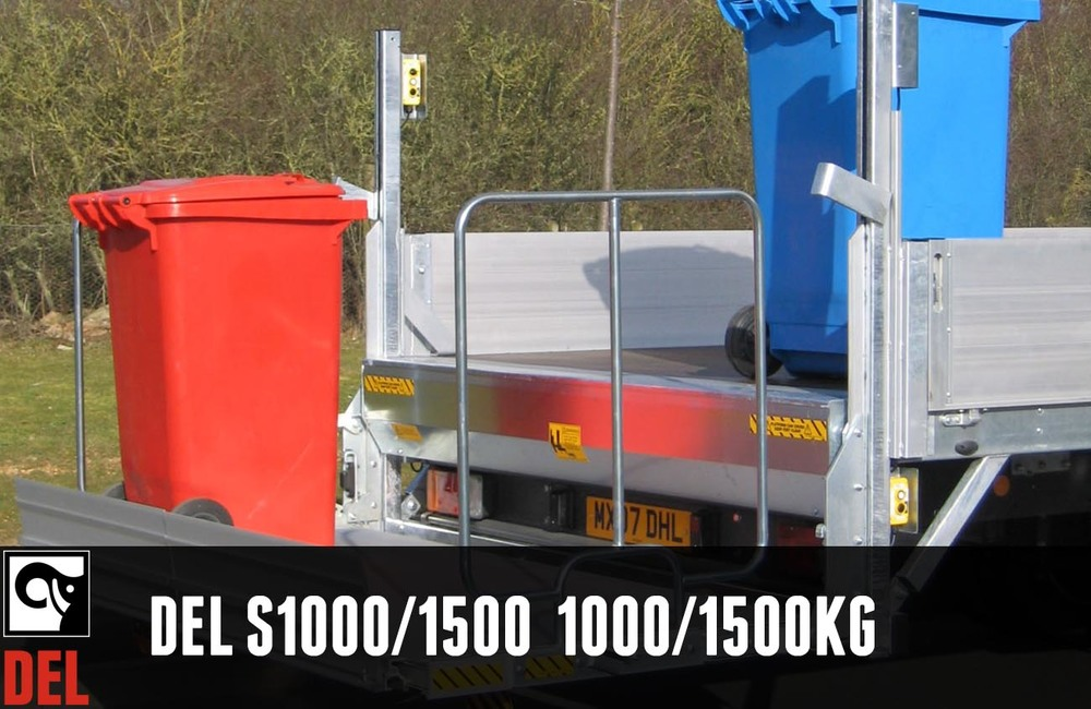 Superloader column tail lift with 1000 kg or 1500kg lifting capacity