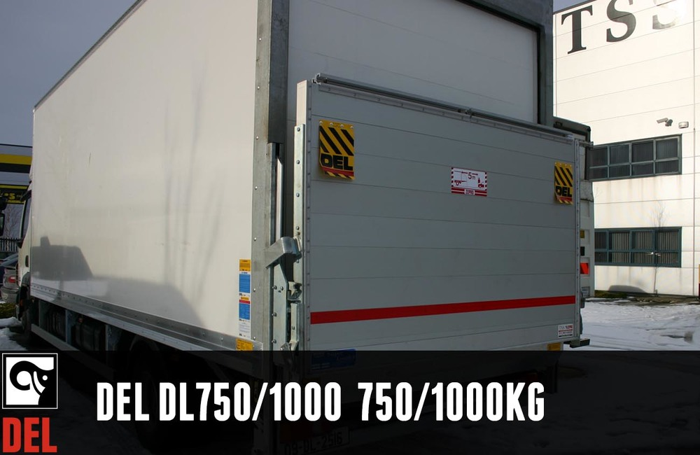 The column lift for all 3.5 tonne vehicles with 750 kg or 1000kg  lifting capacity