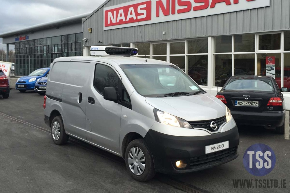 nissan fridge van carrier tss