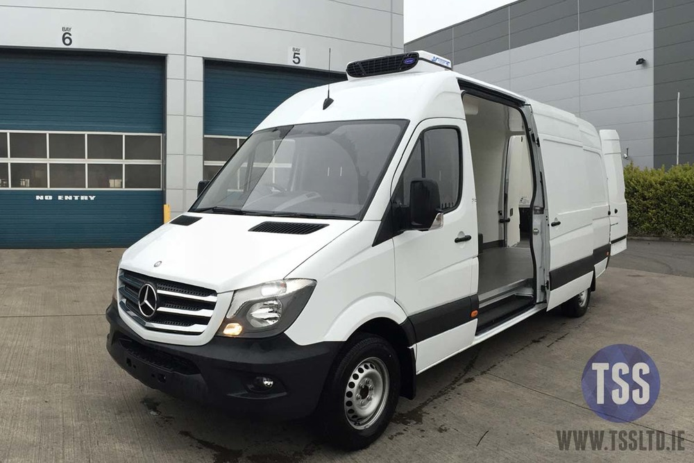 Copy of mercedes fridge van carrier tss