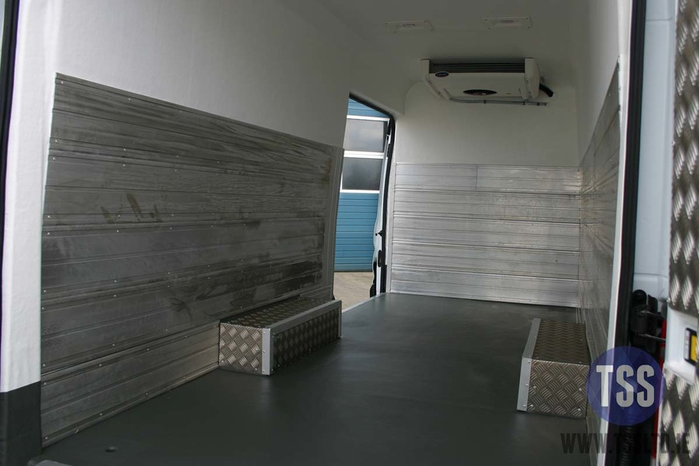 van insulation shelving