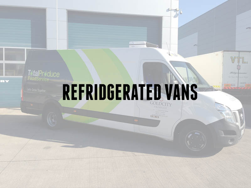 fridge vans, refrigerated vans, freezer vans, chill vans
