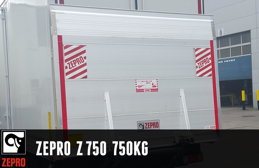 Our Stable and light weight 750kg lift for use on trucks between 4 and 12 tons