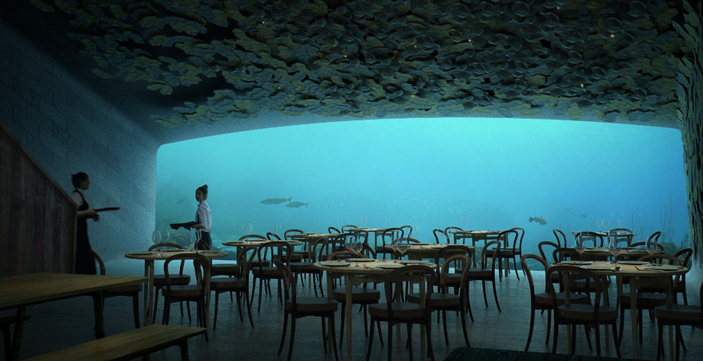 The Independent –  Under: Europe's First Underwater Restaurant