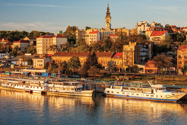 A tour of Serbia for Travel Weekly, including stops in Belgrade, Niš and Novi Sad