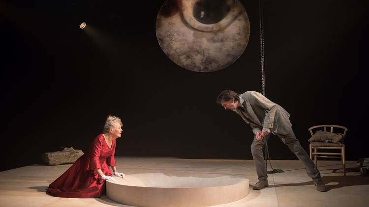 Stella Gonet and James Clyde in  In the Depths of Dead Love . Image: Hugo Glendinning