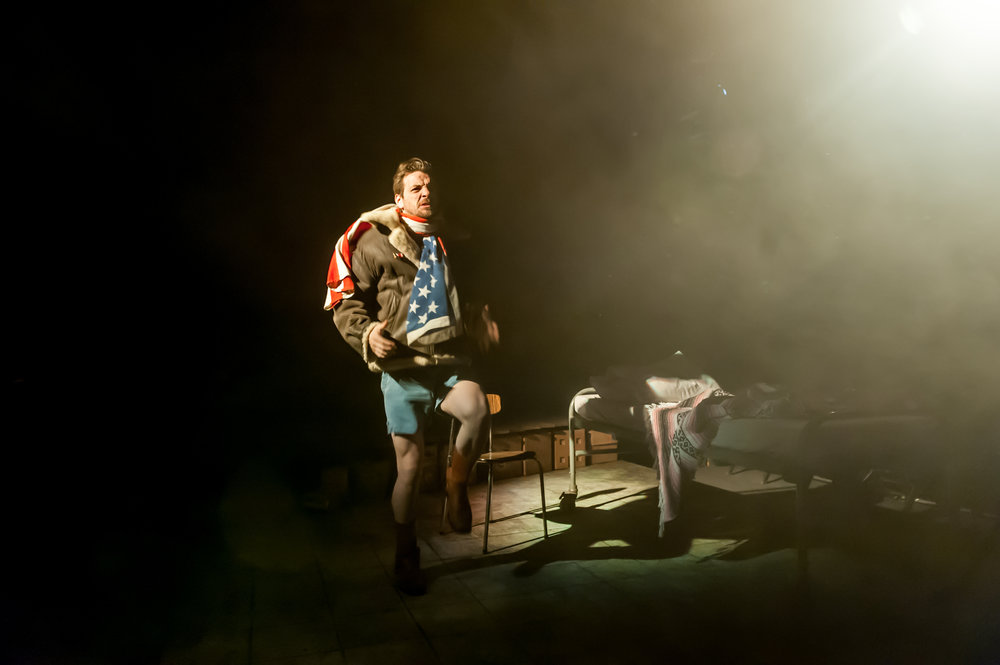Gethin Anthony as Jake. Image: Lidia Crisafulli