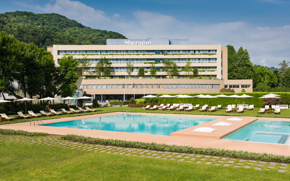 Sheraton Lake Como  release  M  arriott International