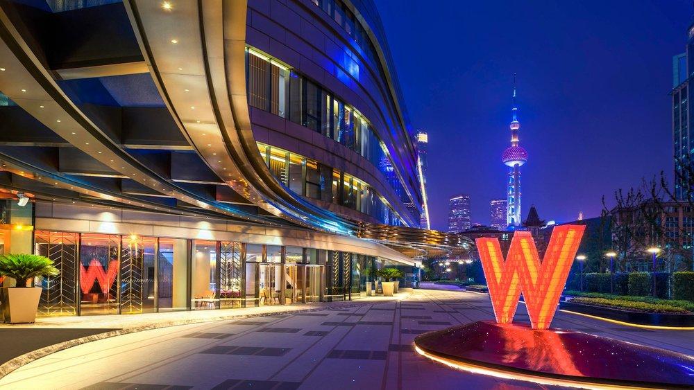 W  Shanghai The Bund  Marriott International