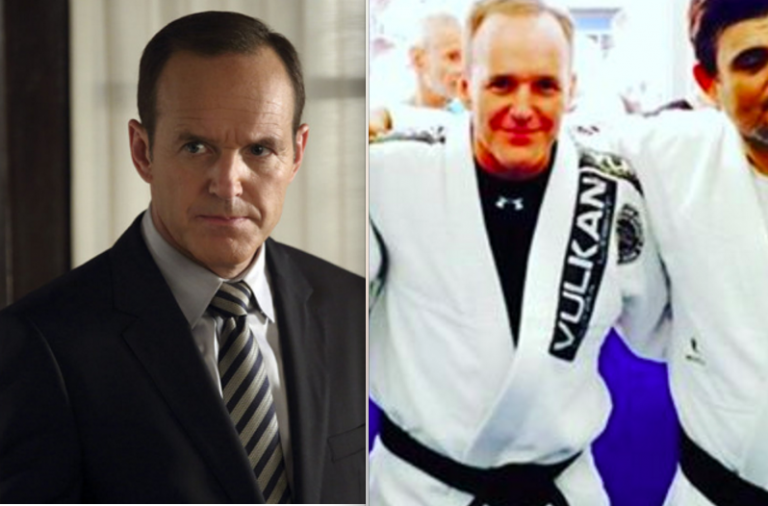 Clark Gregg, who is well known by comic and pop culture geeks as Agent Phil Coulson in the Marvel Cinematic Universe, received his black belt in Brazilian Jiu-Jitsu from Renato Magno of Street Sports BJJ in Santa Monica, CA. Gregg received his black belt after being rewarded his brown belt by Professor Magno back in December 2013. Congratulations to Clark on this amazing martial arts and life achievement!