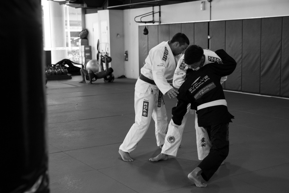 Your instructors are there for a reason and it's not just to teach you techniques. They are also there to answer your training-related questions and give you guidance when you need it. Looking for someone to boost your morale? Your instructor is just the right person to give you that little spark of hope that will get you through a tough spot or a plateau. Don't be shy — it's OK to ask your instructor questions. Trust us!   2) Because you aren't training enough.